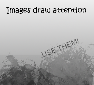 images draw attention